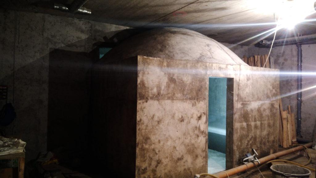 Бетонный свод, купол из бетона
