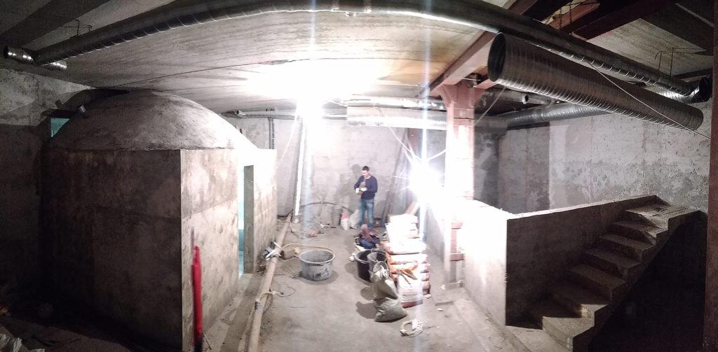 Хамам из бетона в Крыму