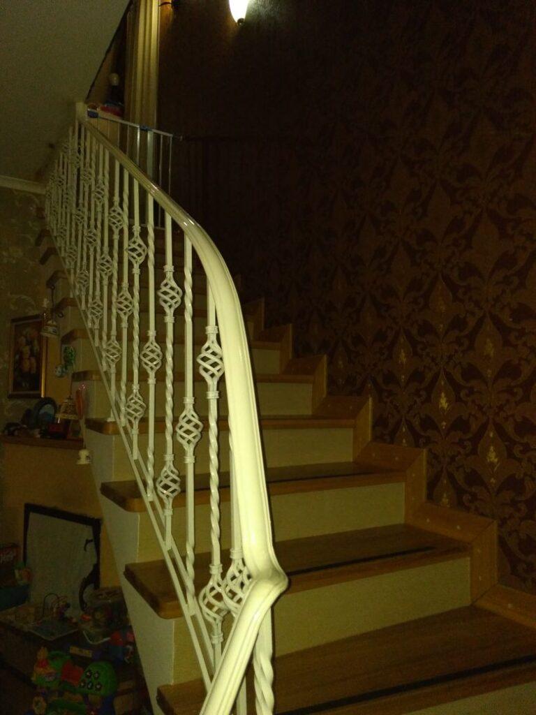 ограждение лестницы в крыму